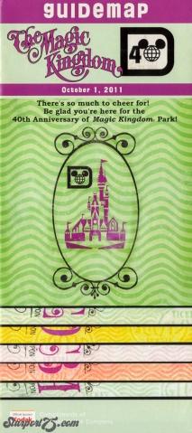 Magic Kingdom Guide – 40th Anniversary – Starport75